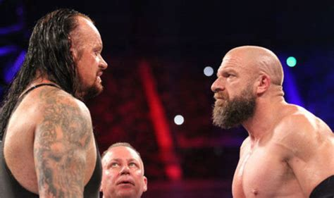 WWE legend reveals why Undertaker and Triple H made him