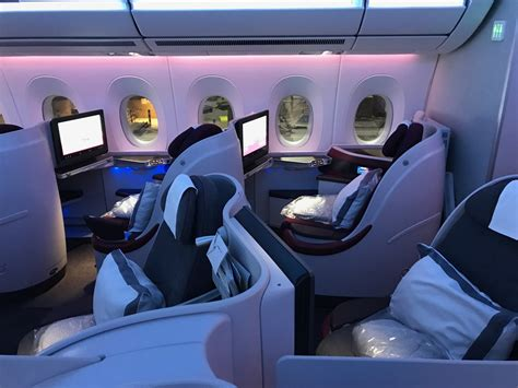 Review: Qatar Airways A350 Business Class Doha to New York